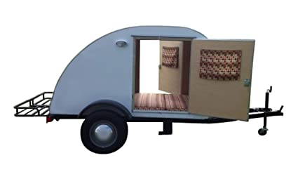 Teardrop Trailer Plans Diy Lightweight Camper For Motorcycle Small