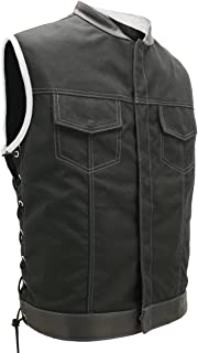 product image for SOA Style Side LACE (Cordura - Military Grade Fabric) Black/White