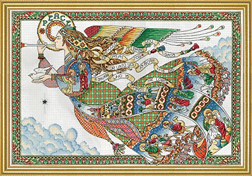 Design Works Crafts 5993 Peace Angel Counted Cross Stitch Ki