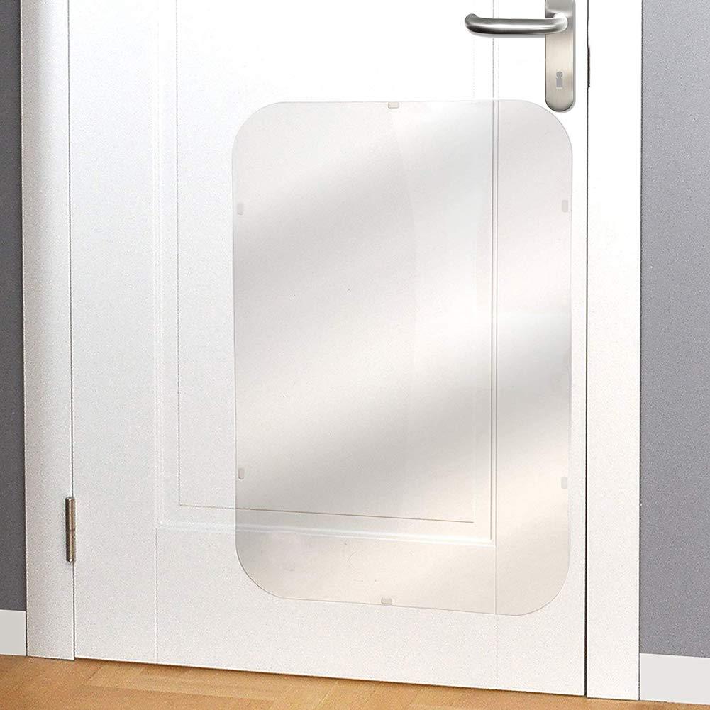 ATpart Hund Kratzschutz für Türen, DIY Schneiden Klare Tür Rahmen ...