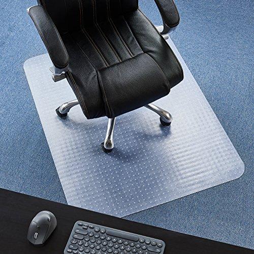 P2U 36'' x 48'' Polyvinyl Chloride(PVC) Rectangular Chair Mat for Carpets by P2U