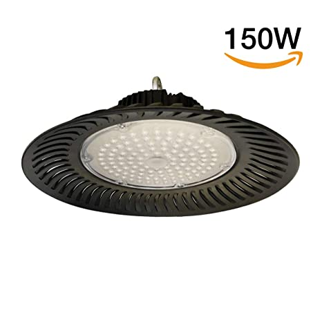 smartWIND Campana LED UFO 150W Industrial 230V 14250 lúmenes Blanco frío 6500K IP65