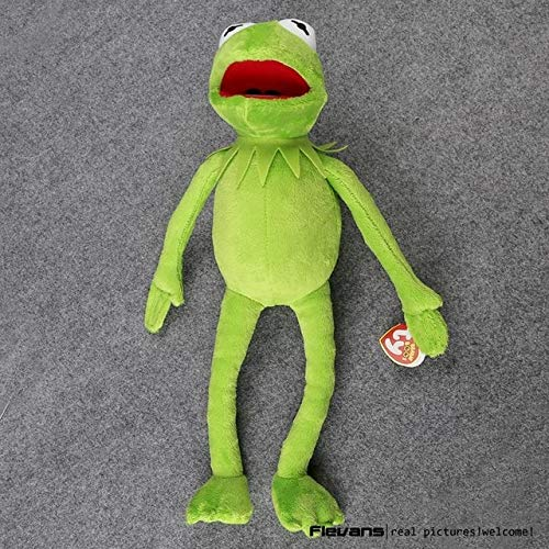 (NATTEL Hot Sale 14'' 40cm Plush Toys Street Doll Stuffed Animal Toy Plush Frog Doll Holiday Gift)