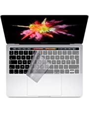 "i-Buy Français Clavier Coque de Protection / Couverture AZERTY pour MacBook Pro 13"" /15"" avec Touch Bar & ID - Transparent / Clair"