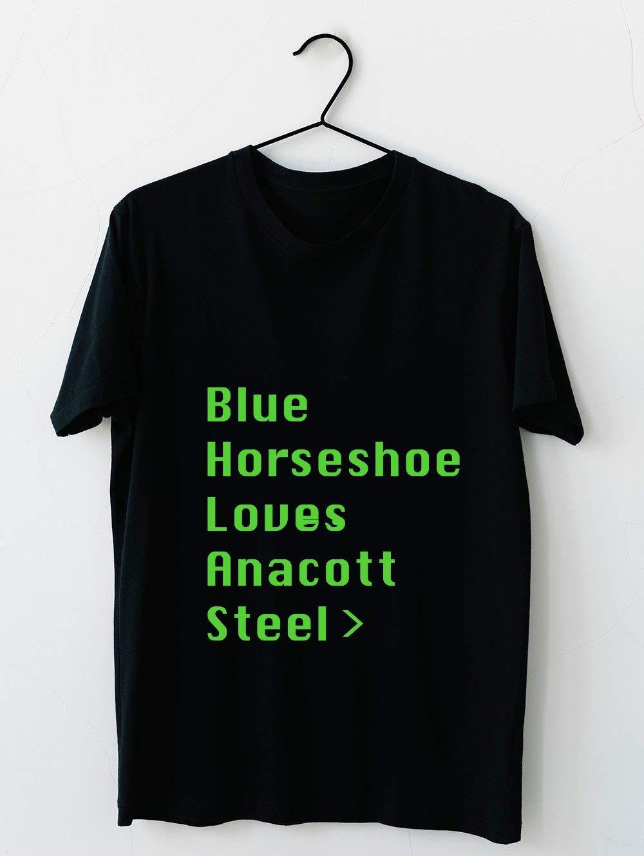 Blue Horseshoe Loves Anacott Steel 30 T Shirt For Unisex