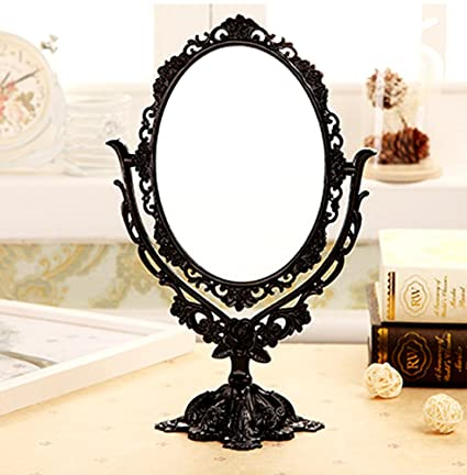 ToiM European Style Vintage Retro Portable Dressing Table Mirror Swivel Vanity  Mirror, Double Sided Dressing - Amazon.com: ToiM European Style Vintage Retro Portable Dressing
