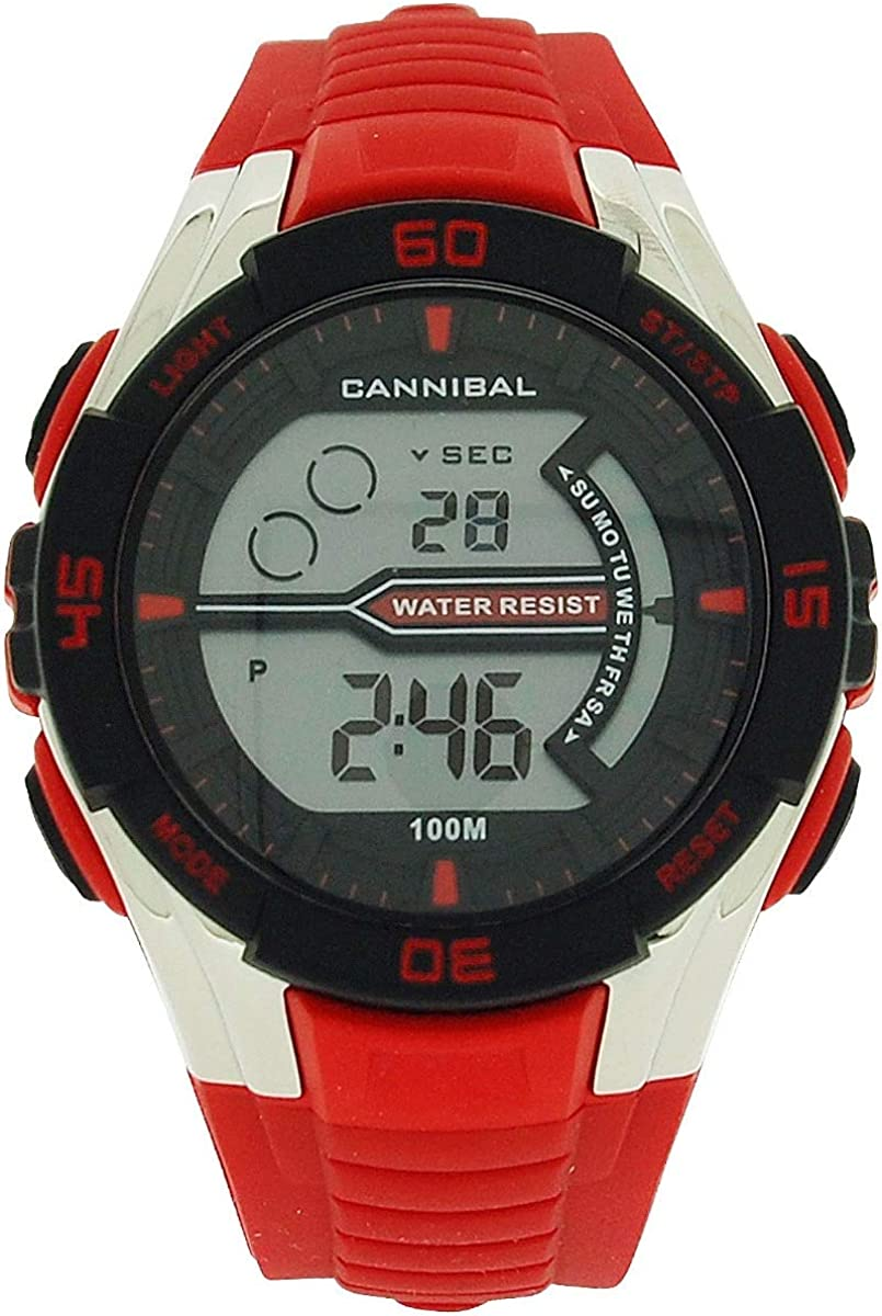Montre Cannibal Active Garçon Chronographe Digitale Bracelet