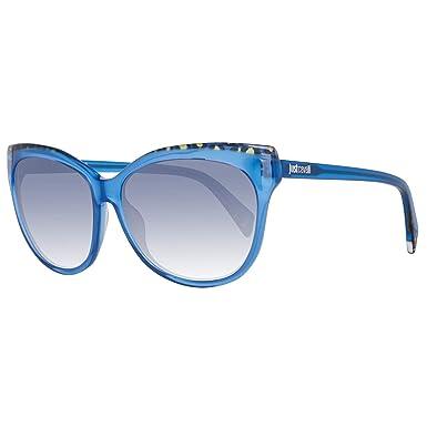 Just Cavalli Jc739s Gafas de sol, Azul (Blau), 58.0 para ...