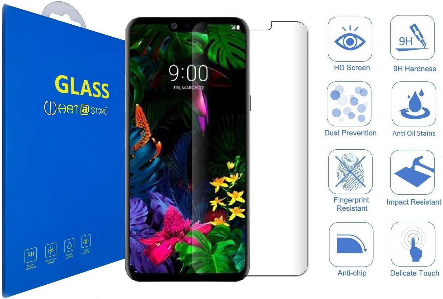 LG G8 ThinQ - Curvo 3D Cristal Templado Protector de Pantalla, 3D ...