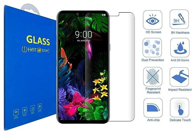 LG G8 ThinQ - Curvo 3D Cristal Templado Protector de ...