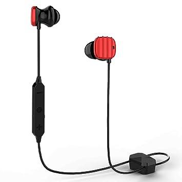 COWIN HE8D Auriculares Bluetooth con cancelación de Ruido Activa,Auriculares inalámbricos con Carcasa de Viaje rígida,Resistente al Sudor y diseño ...