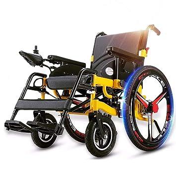 Wheel-hy Silla DE Ruedas ELÉCTRICA Power Chair: Amazon.es: Deportes y aire libre