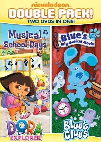 Camera Clues - Dora & Blue's Clues Double Feature: Dora Musical School Days & Blue's Big Musical Movie