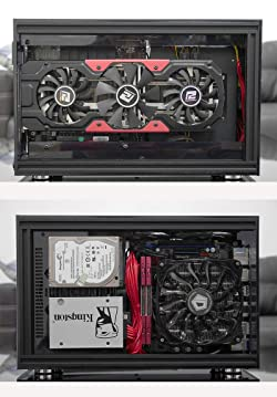 Bykski Flex A35 Mini Transparent Acrylic ITX Computer Case (A50 Case)