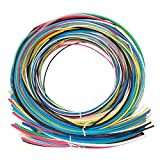 SwitchMe 2:1 Heat Shrink Tubing Shrink Wrap Tube Kit 6 Size 7 Color Total 66 Meters