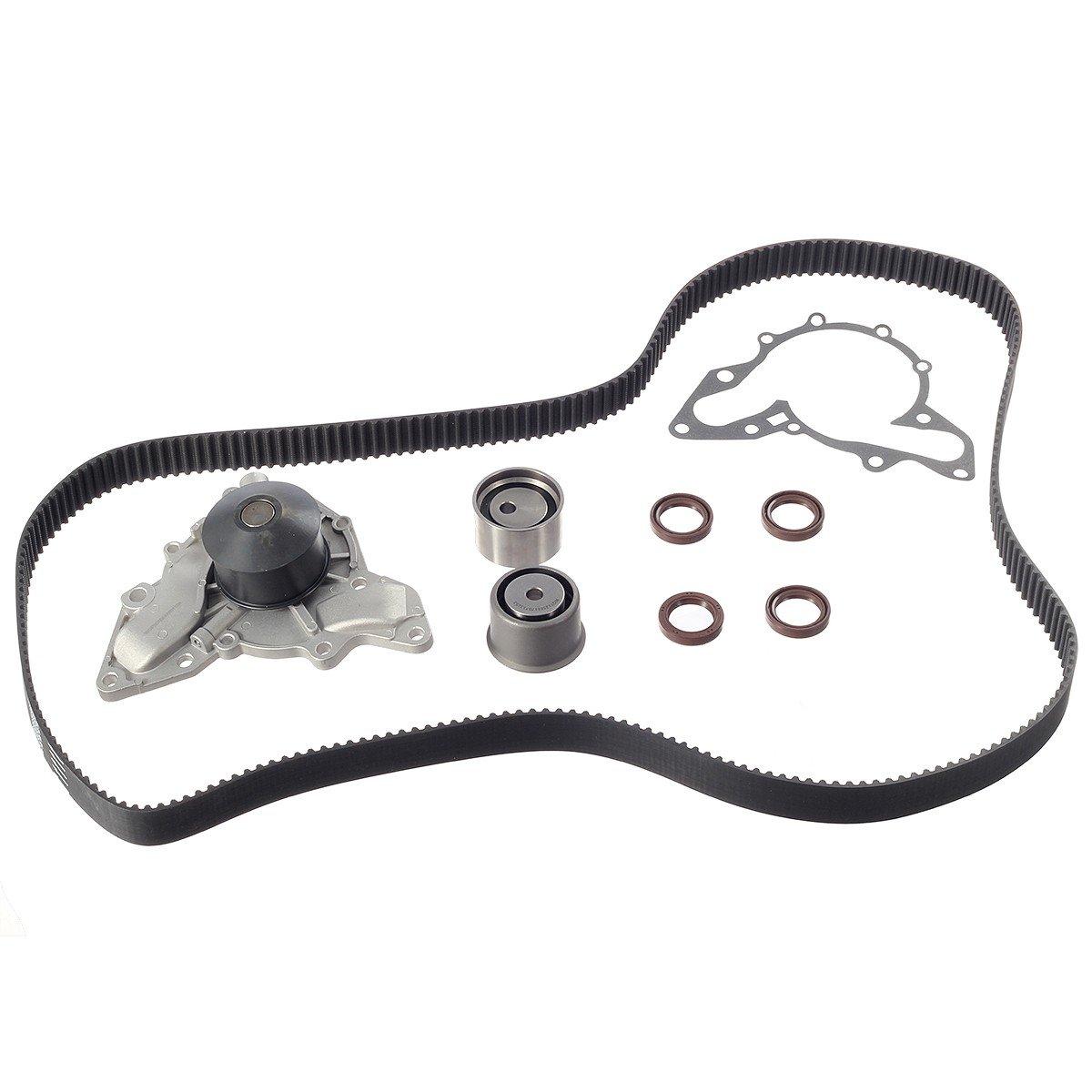 Tbk323wp Timing Belt Water Pump Kit For Kia Sedona 05 Mazda 6 Amanti 35l 3497cc V6 Dohc Hyundai Xg350 Santa Fe G6cu Automotive