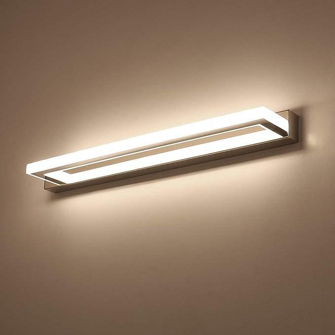 ECOBRT LED Spiegelleuchte Badleuchte Schminklicht Badezimmer ...