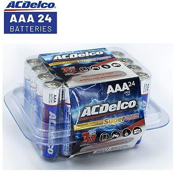 Acdelco Aaa Batteries Alkaline Battery 24 Count