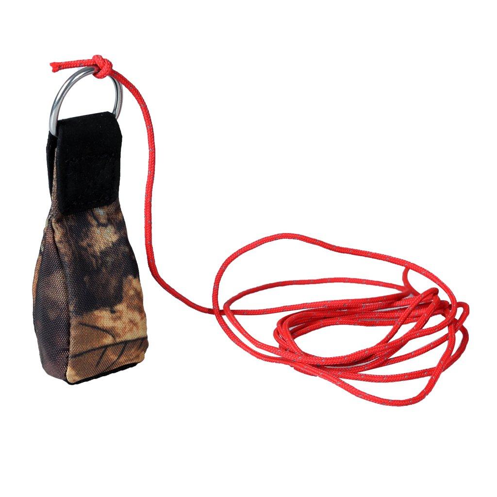 MagiDeal Sac de Poids Ligne Lancer de Jeter Multifonctionnel Throw Bag Camouflage