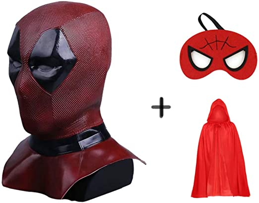 SEJNGF Máscara De Deadpool Disfraces Cosplay Cortex Disfraz ...