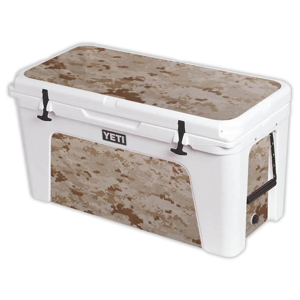 MightySkins Protective Vinyl Skin Decal for YETI Tundra 110 qt Cooler wrap Cover Sticker Skins Desert Camo by MightySkins (Image #1)