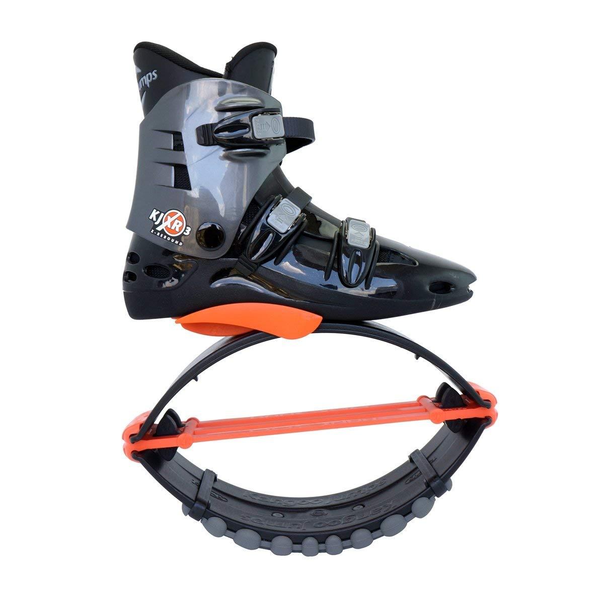Zapatos de rebote Kangoo salta XR3, negro/naranja, 9 - 10: Amazon.es: Deportes y aire libre