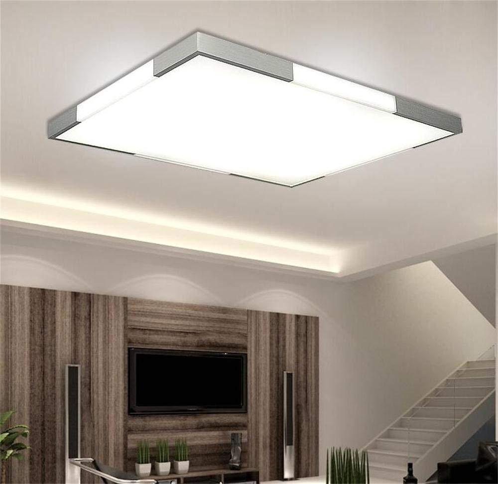 Neue einfache Nachahmung Holz LED rechteckige Wohnzimmer Schlafzimmer den Corner Office Decke (Größe  65 cm)