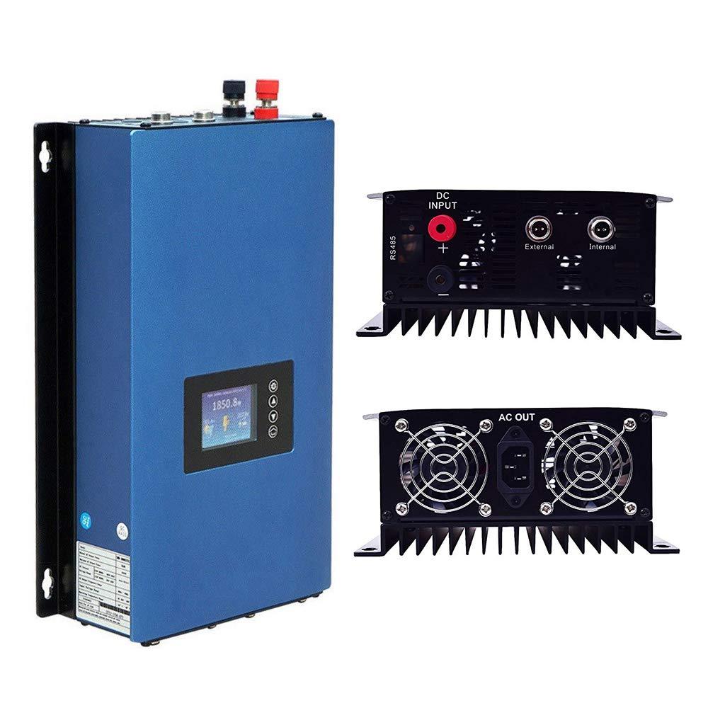 PowMr 1000W Solar Grid Tie Inverter with Limiter Sunshine PV System DC22-60V to AC110V Inverter