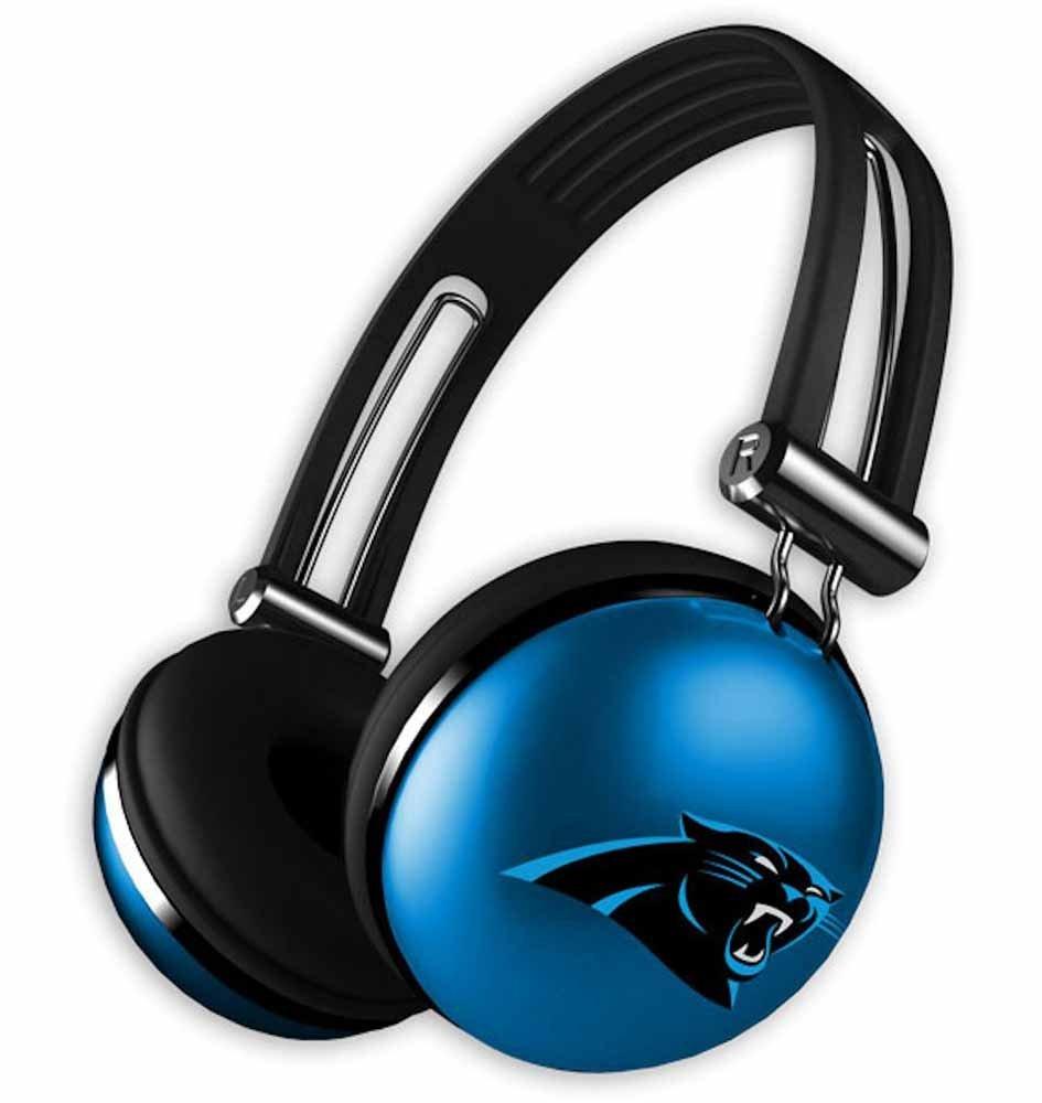 carolina panthers tough bass headphones by ihip casy