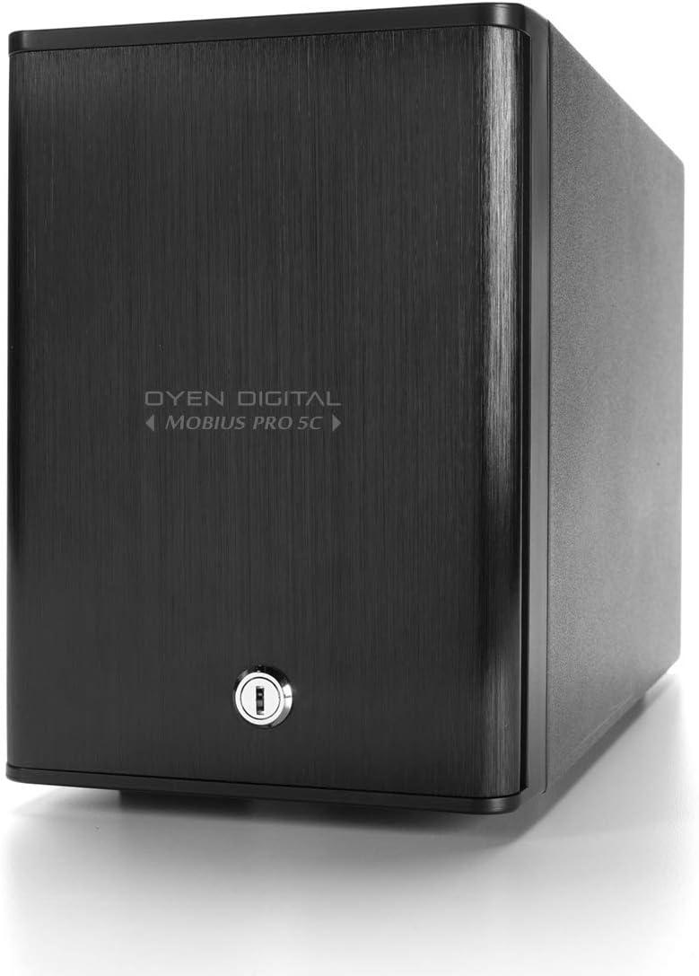 Mobius Pro 5C 5-Bay USB-C External Drive Enclosure