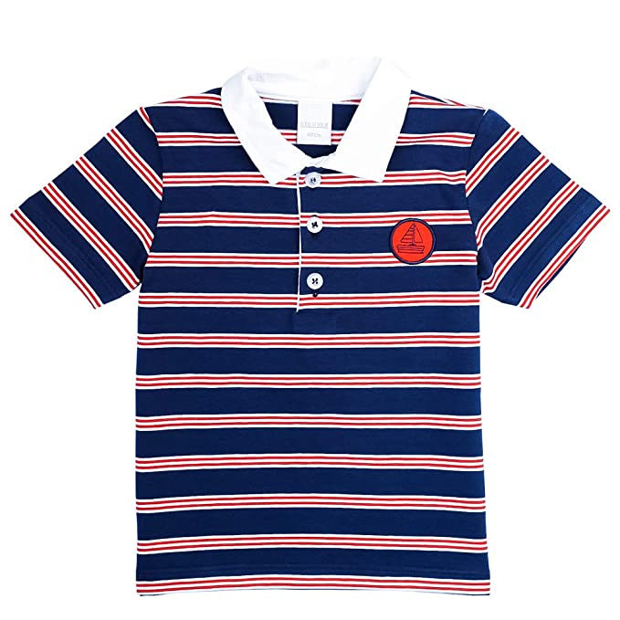Stummer Mini Niño Camiseta, T-Shirt, Camiseta Polo, Azul: Amazon ...