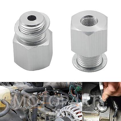 Amazon com: Motoparty Oil Pressure Sensor Adapter For All GM