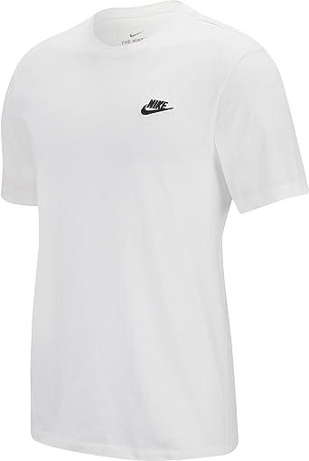 TALLA L. NIKE M NSW Club tee Camiseta de Manga Corta, Hombre