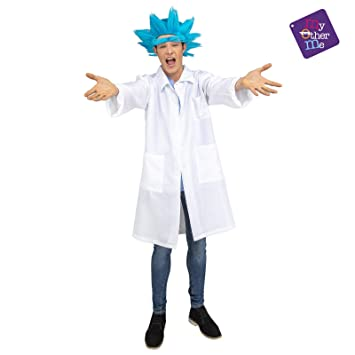 My Other Me Disfraz de Científico Loco para Hombre: Amazon.es ...