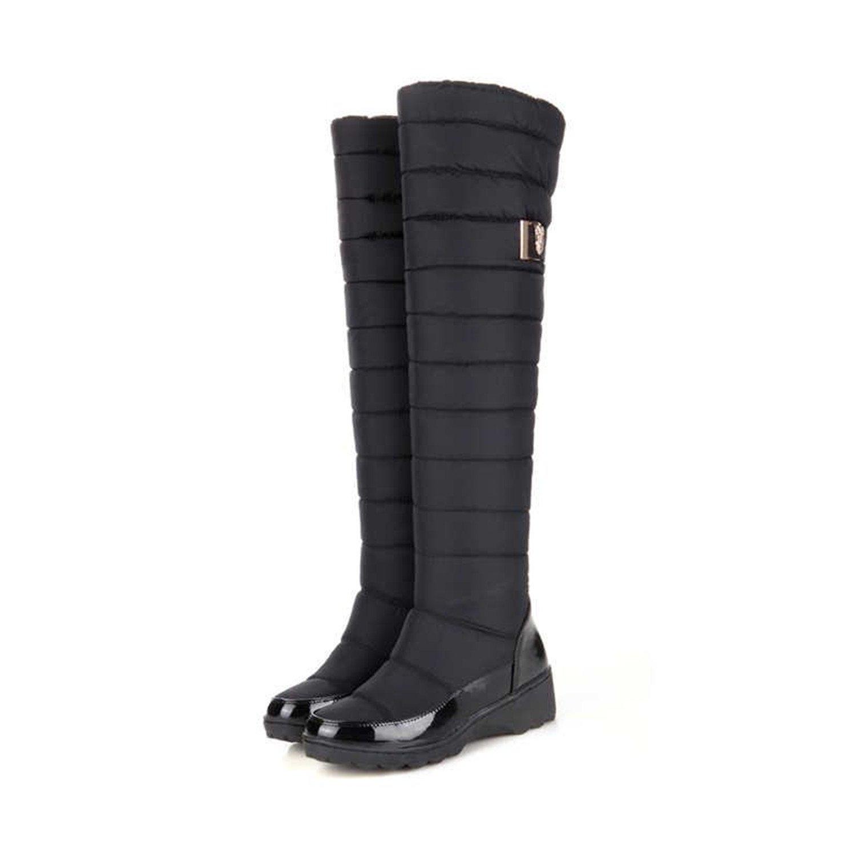 [Better Annie snow-boots] レディース 8 ブラック B077N2TGXV
