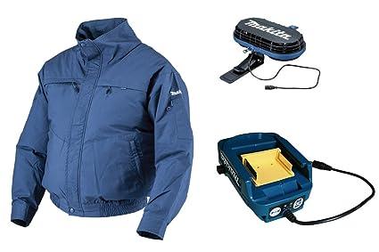 7693bd55942f23 Amazon | [マキタ]makita 充電式ファンジャケット 立ち襟綿素材(L ...