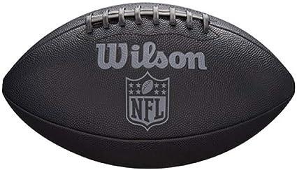 Wilson WTF1846XB Pelota de fútbol Americano NFL Jet Black Cuero ...