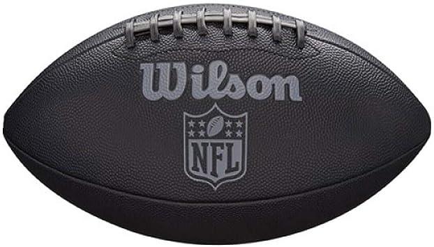 Wilson WTF1846XB Pelota de fútbol Americano NFL Jet Black ...