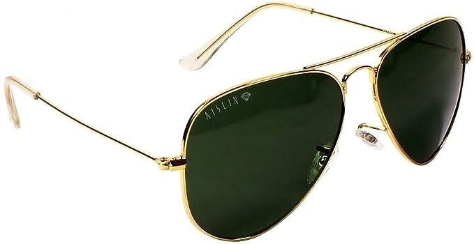 5e494838dcfe5 Aislin Aviator Unisex Sunglasses (AS-3025DH-2-GLD