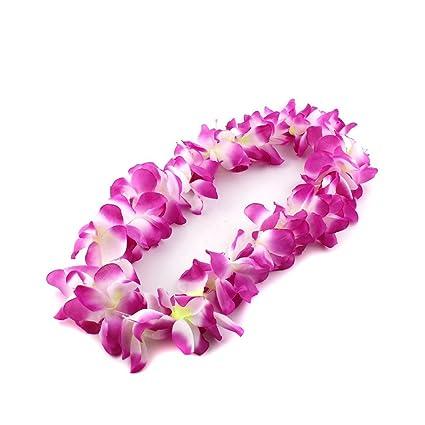 prezzo migliore molto carino reputazione prima PIXNOR Collana Hawaiana ,Hawaiano Colorate Ghirlande di ...