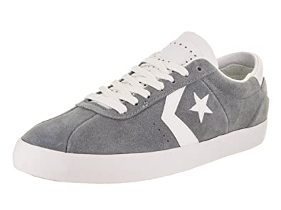 411df142fb8871 Converse Unisex Breakpoint Pro Ox Cool Grey White White Casual Shoe 8 Men