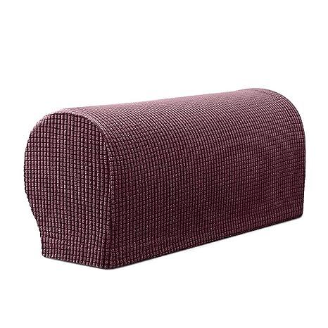 Monba - 2 Fundas de Brazo de sofá elásticas de Licra para ...