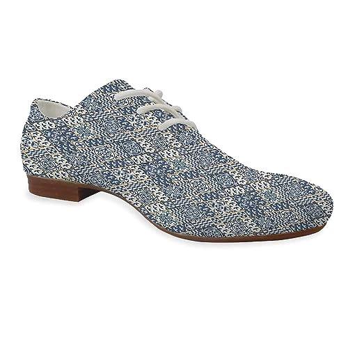 Yoliyana Zapatos De Piel Marroquí Duraderos Cuadrados Y