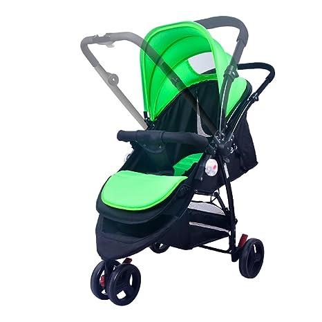 C-K-P Cochecito de bebé, ligero paraguas bebé plegable niño sentado reclinable ultraligero portátil verano carro