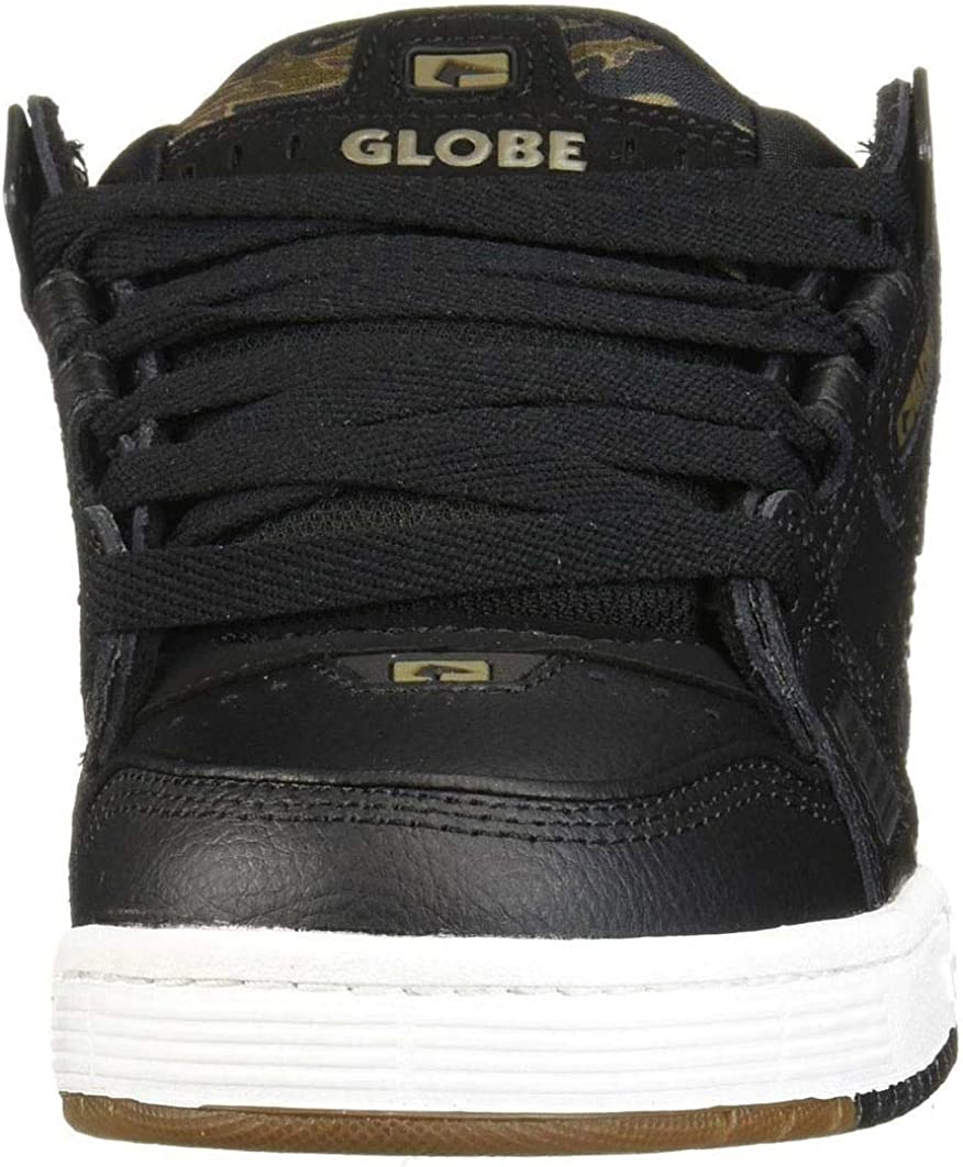 Globe Sabre Mens Black Camouflage Leather /& Synthetic Skate Trainers