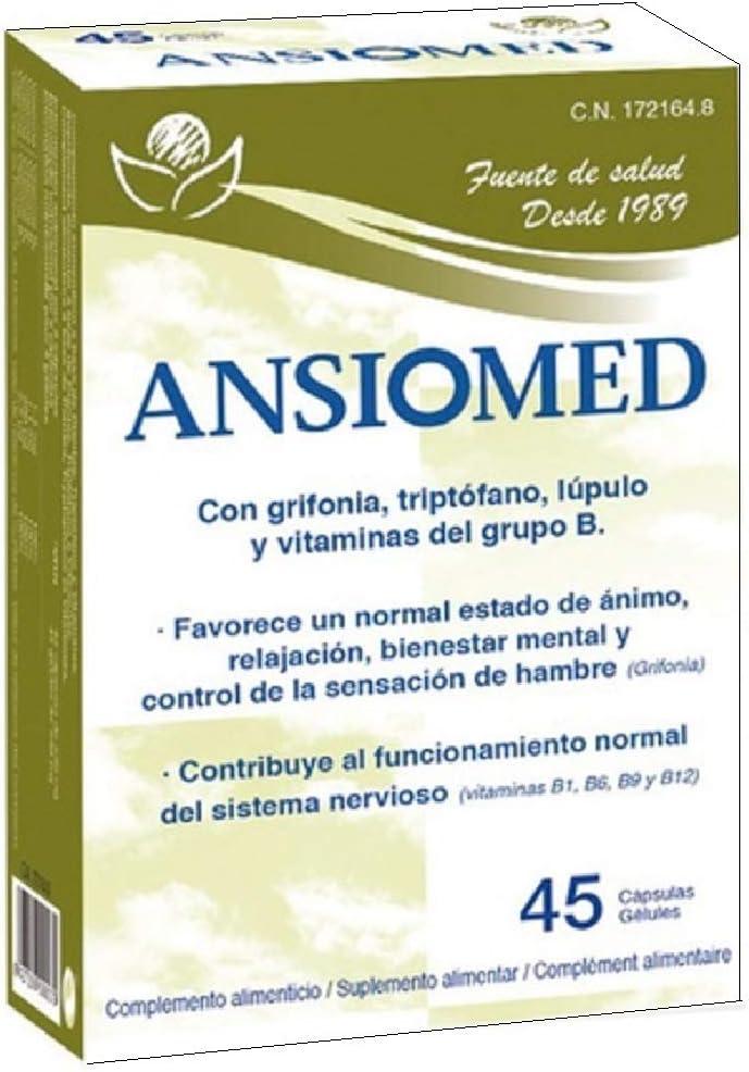Ansiomed 45 cápsulas de Bioserum