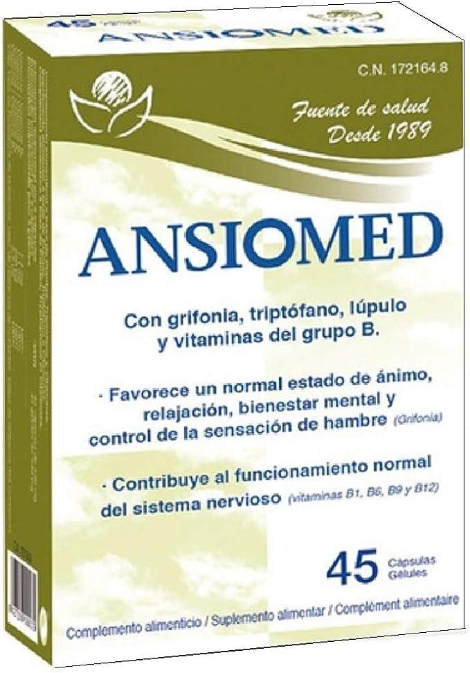 Ansiomed 45 cápsulas de Bioserum: Amazon.es: Salud y cuidado personal