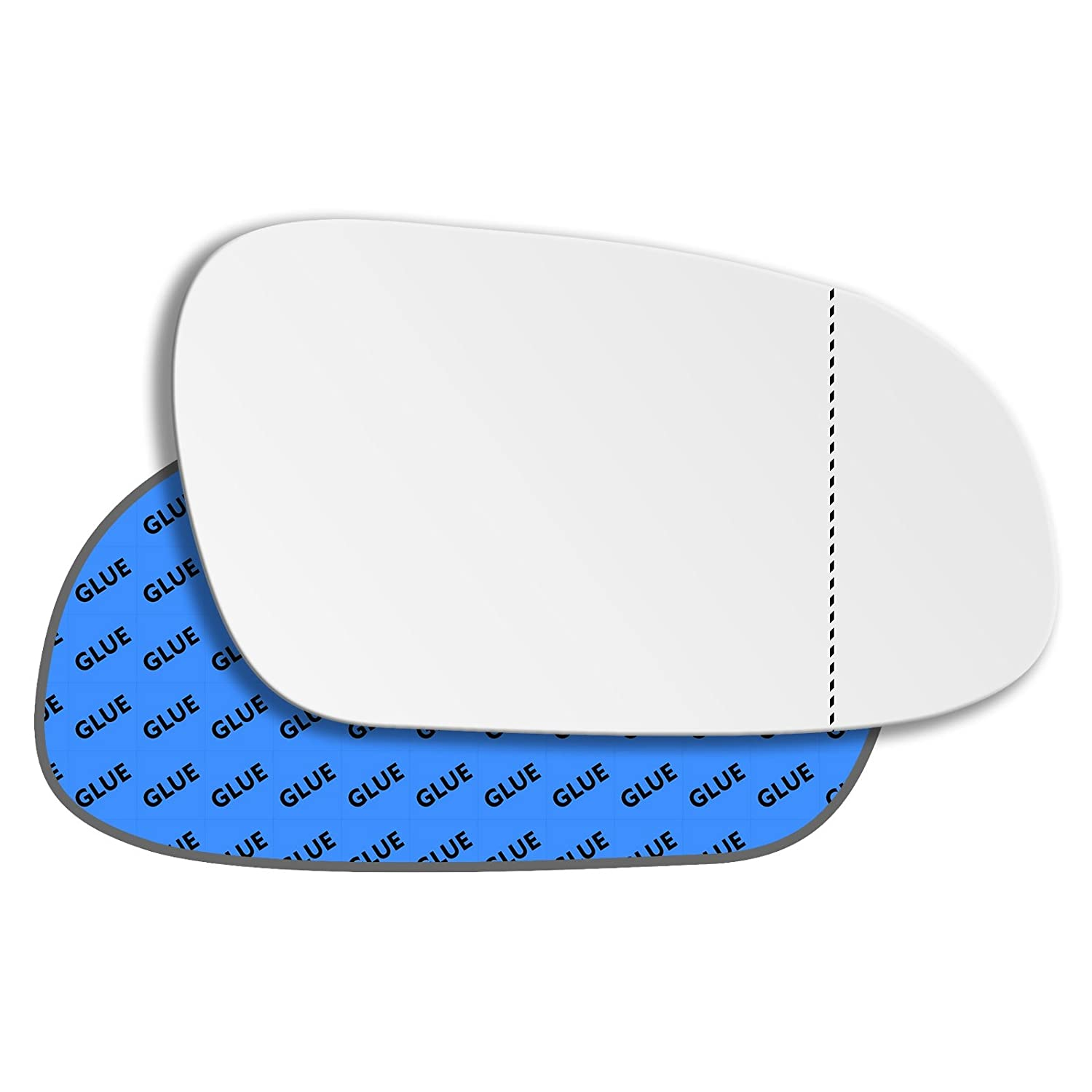Hightecpl 223RAS Right Hand Driver Off Side Wide Angle Wing Mirror Glass Replacement Channel Autoparts Limited