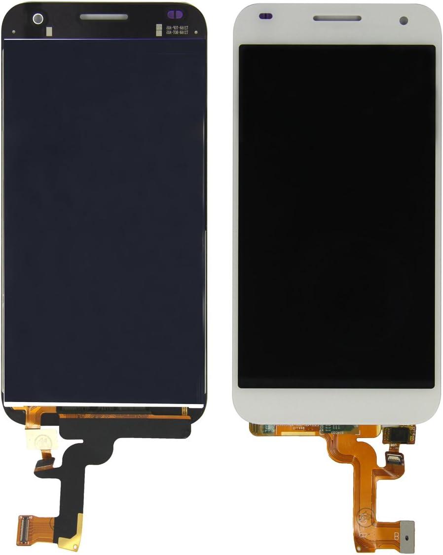Skiliwah® para Huawei Ascend G7 blanco ~Completo de pantalla LCD y ...