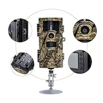 CXL Salvaje Animal Trail cámara Exterior Caza cámara Bosque Seguridad vigilancia cámara Animal observación Grabador, Spray Impermeable, Adecuado para ...